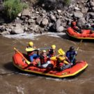 rafting on clear creek