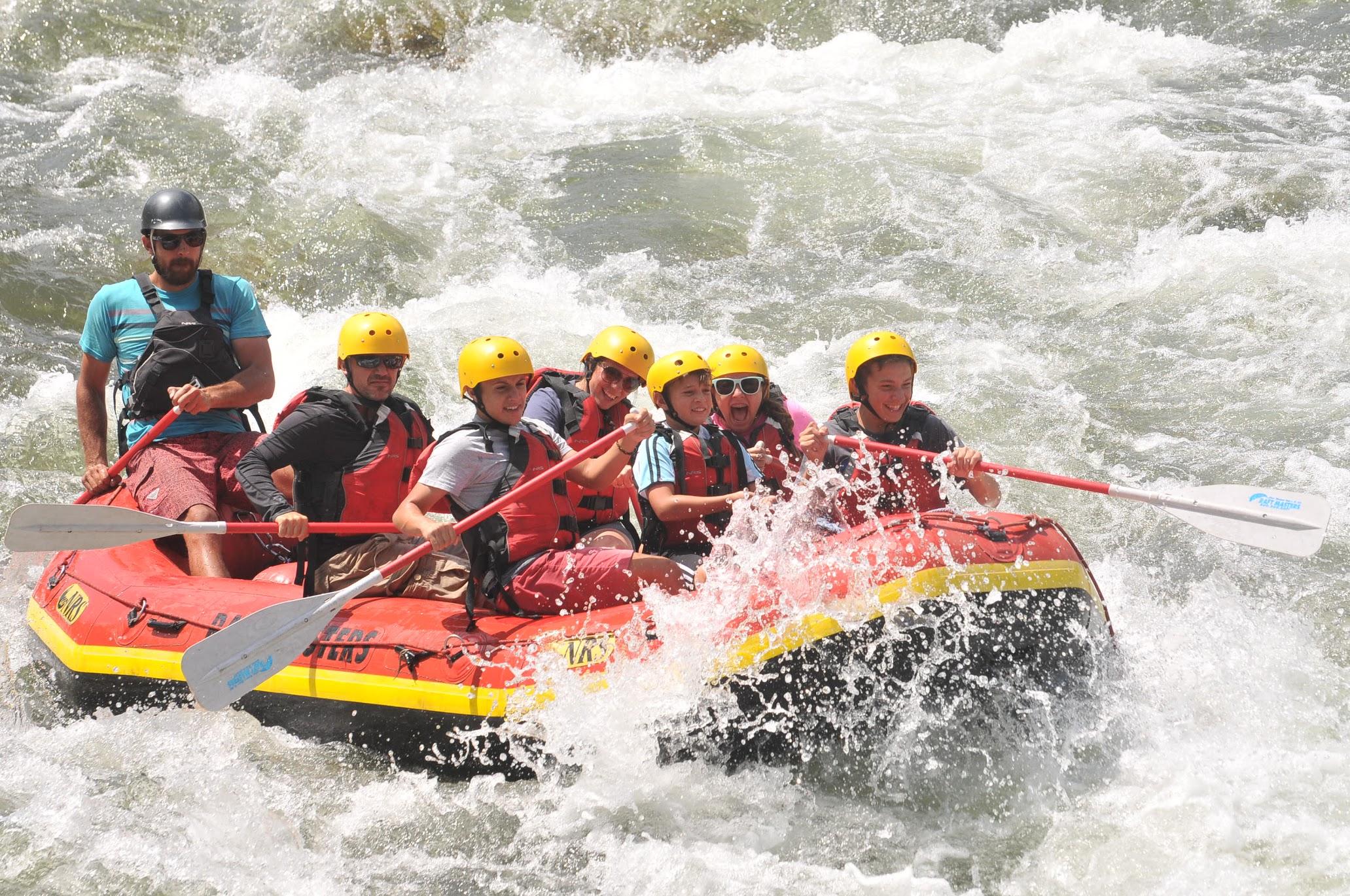 Boat & Bridge - Colorado River Rafting & Whitewater Rafting