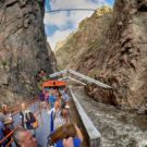 guests enjoying Royal Gorge train ride Raft Masters Tours Colorado