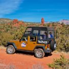 Guests enjoying Jeep tour in Red Canyon Colorado Raft Masters Colorado
