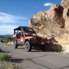 Guests enjoying Jeep tour in Colorado Raft Masters Colorado