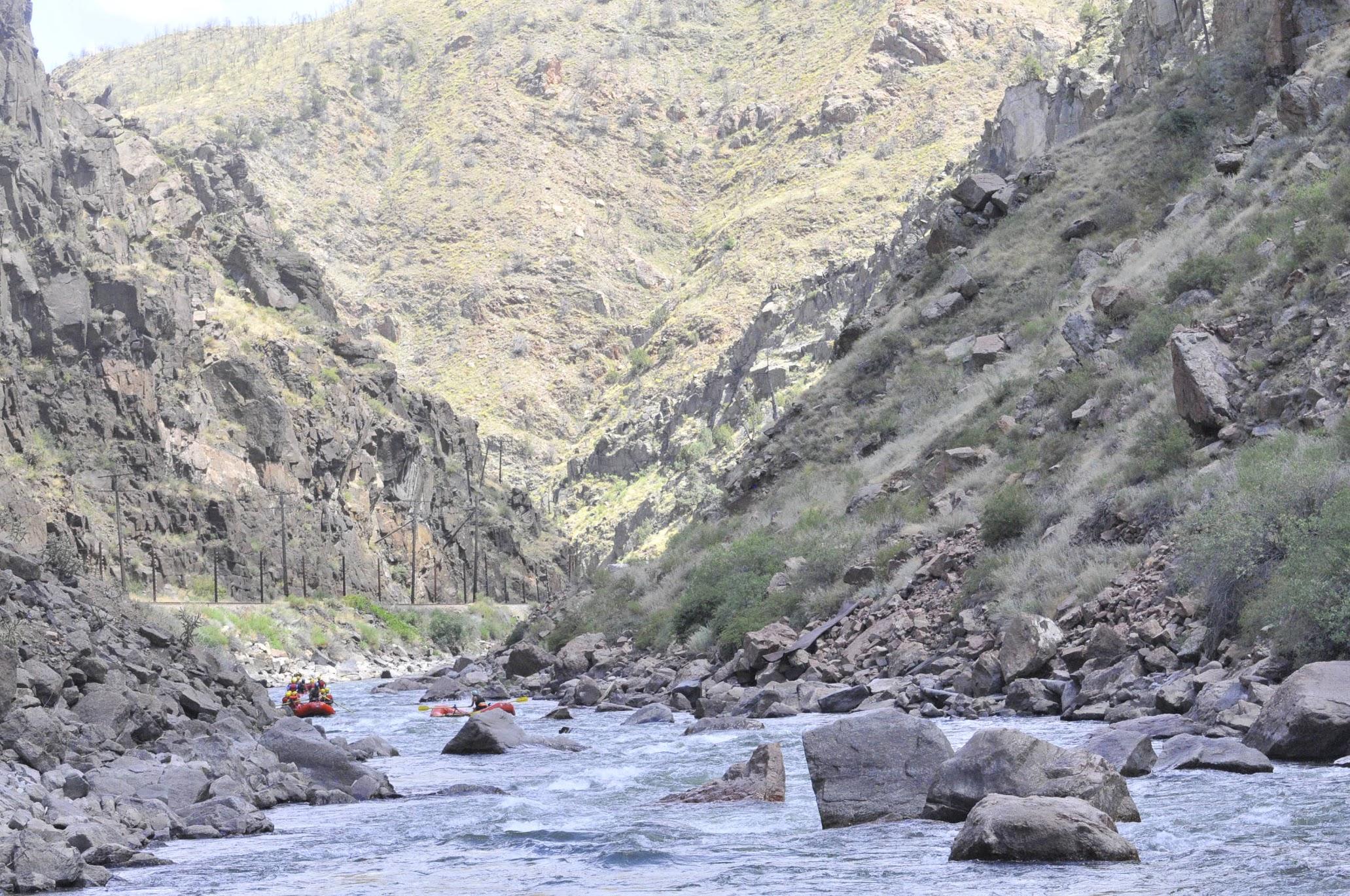 Royal Gorge Rafting 1