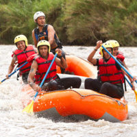 rafting boat adventure