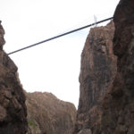 view of Royal Gorge bridge Raft Masters Colorado tour