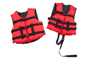 whitewater rafting Personal Floatation Device or PFD